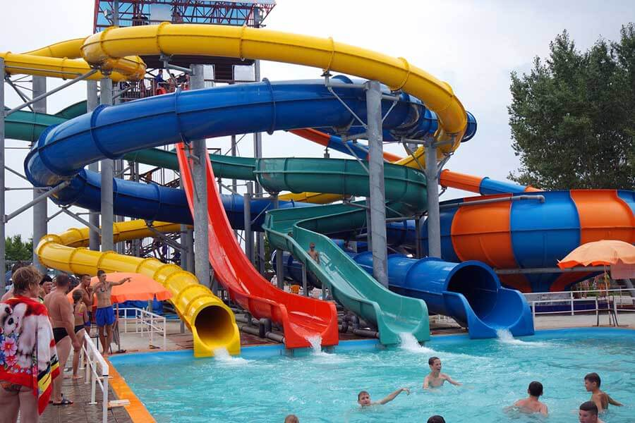 Развлечения в Яровом: аквапарк Лава