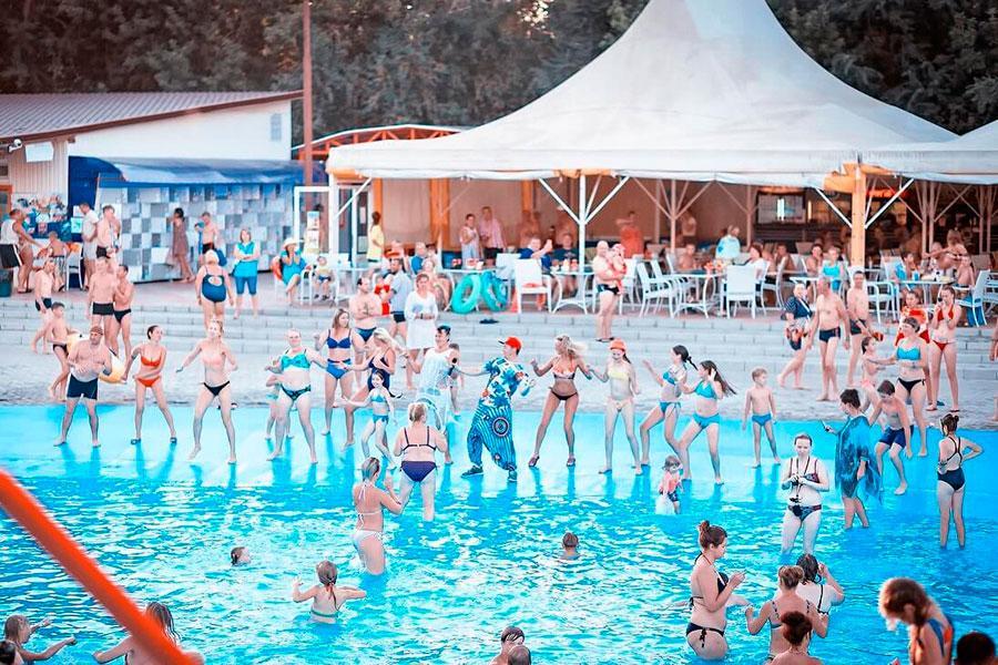 Аквапарк Лава в Яровом: фитнес