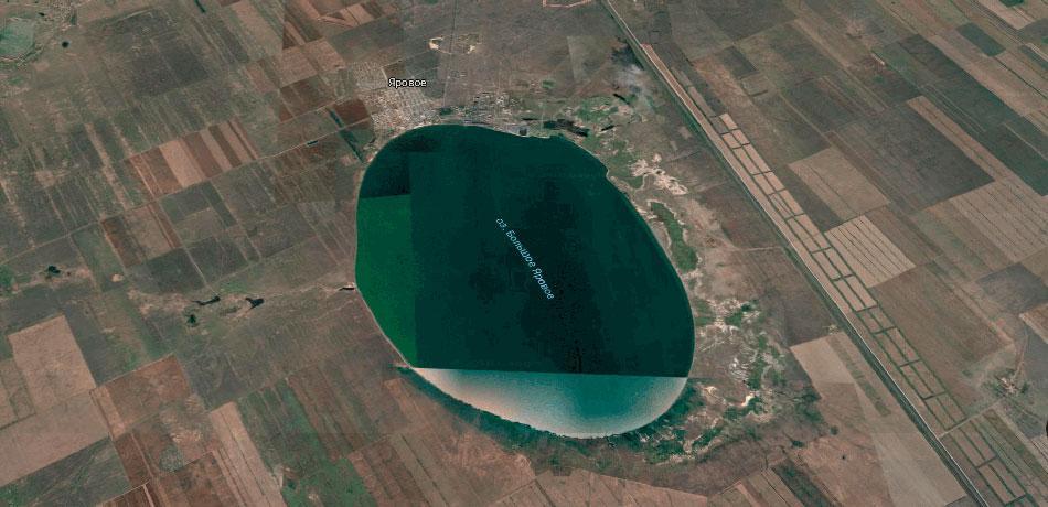 Характеристика Озера Большое Яровое