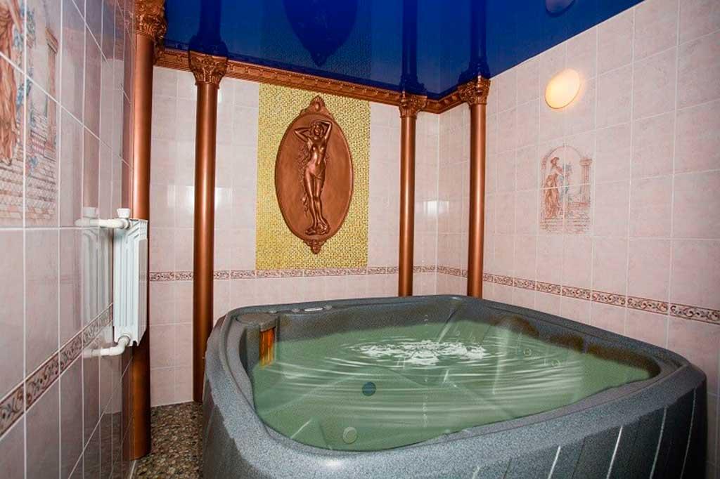 Сауна в мотеле «Дилижанс» в Яровом