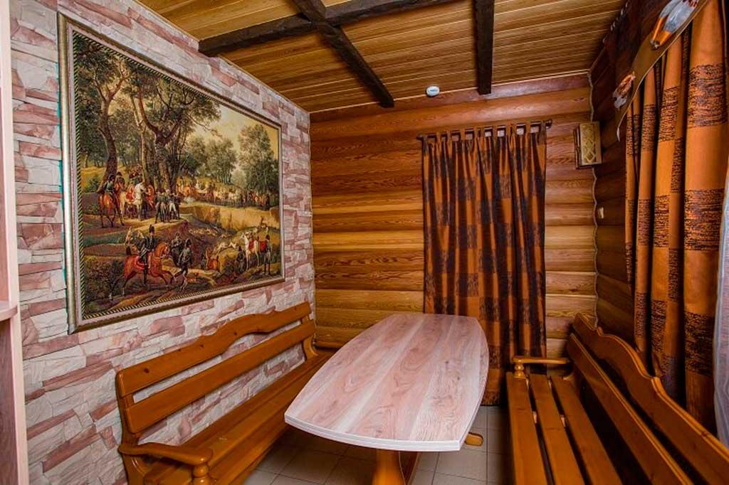 Сауна в мотеле «Дилижанс»